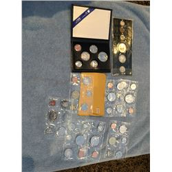 Several Canadian uncirculated coin sets, 1967, 1970, 1983, 1987, 1991, 1980, 1987, 1989, 1987
