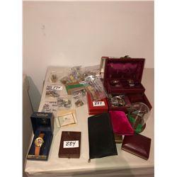 Several watches, Bulova, Seiko, etc