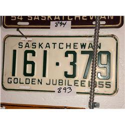 2 - 1955 Sask Golden Jubilee Plates