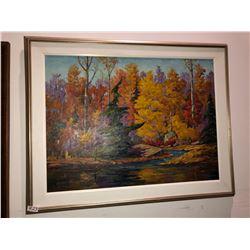 "George Buytendorp Sunny Autumn Day, oil on canvas, 30""x40"""