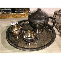 William Rogers Silver tea set (very nice)