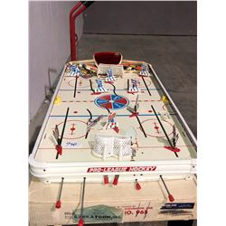 Old hockey table game