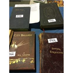 5 Collector Books
