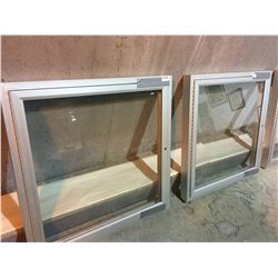 6 metal frames or covers for cabinet plus 3 metal picture frames