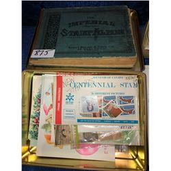 Hundreds of stamps from around the world, Canada, Great Britain, India, USA and many more