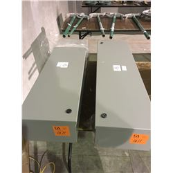 2 Bel FT3200 electrical boxes