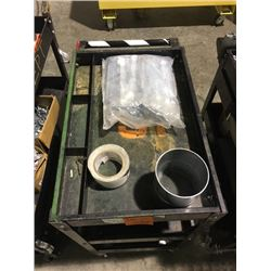 Electrical work cart with all contents