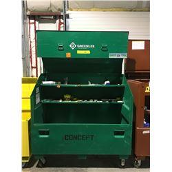Greenlee Mobile locking jobsite tool carrier