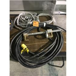 HD Extension cord, helmet shield, clamps