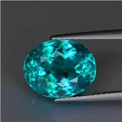 Natural Greenish Blue Apatite 5.21 Cts
