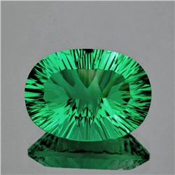 Natural AAA Emerald Green Fluorite 18.02 Ct Flawless