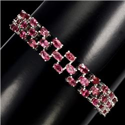 Natural Top Pink Tourmaline 109 Cts Bracelet