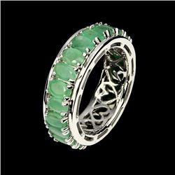 Natural Columbian Emerald 36.66 Ct Ring