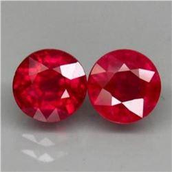 Natural Ruby Pair 5.23 Carats