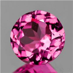 Natural Top AAA Rose Pink Tourmaline 5.50 MM Flawless
