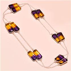 Gorgeous 54 Ct. Ametrine Necklace
