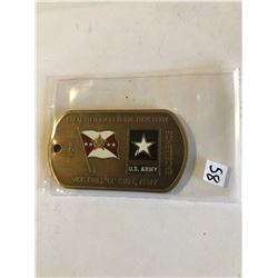 RARE Challage Coin ARMY Presented to Vice Chief of Staff ARMY
