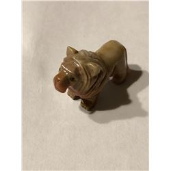 Beautiful Solid Gemstone MALE LION Soapstone 14.8 Grams
