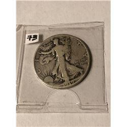 1939 Silver Walking Liberty Half Dollar Nice Early Silver US Coin