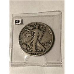 1943 S Silver Walking Liberty Half Dollar Nice Early Silver US Coin