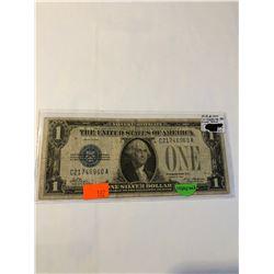 Rare 1928 Series FUNNY BACK $1.00 Silver Certificate F Grade