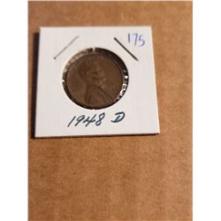 1948 D Wheat Penny