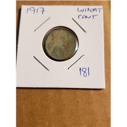 1917 Wheat Penny