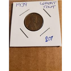 1939 Wheat Penny