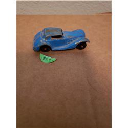 Vintage Tootsie Toy 1939 Mercedes Original Blue Paint