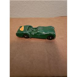 Vintage Tootsie Toy Car Triumph TR3 Original Paint Made In USA
