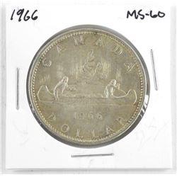 1966 Canada Silver Dollar