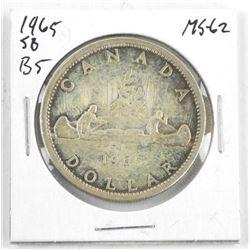 1964 Canada Silver Dollar. MS62