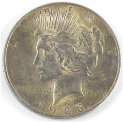 1923 USA Silver Peace Dollar