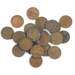 Estate Lot (28) NFLD One Cent Coins
