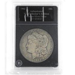 1902 USA Morgan Dollar (VG) Slab