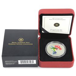 2007 25 Cent Coin 'Ruby Throated Hummingbird' SOLD