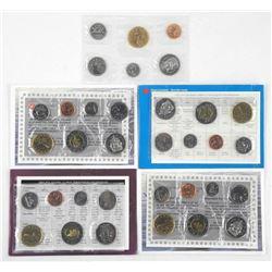 Lot (5) RCM PL Coin Sets