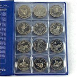 Lot (48) Canada Trade Dollars