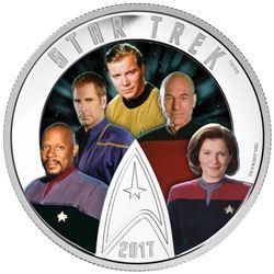Estate .9999 Fine Silver $30.00 Coin 'Star Trek -