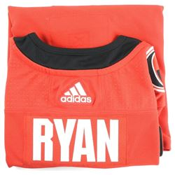 B. Ryan (OTT) PRO Jersey Signed with C.O.A.