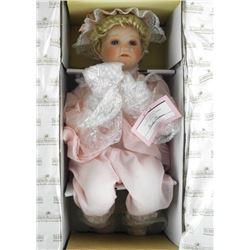 Ashton Drake - Fine Porcelain Doll, Now I Lay Me D