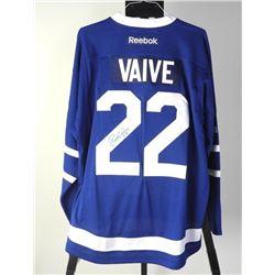 R. Vaive TML Jersey 50 Goal Scorer Inscription Sig