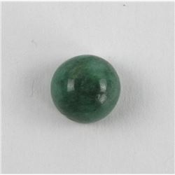 Loose Gemstone 10.00ct Round Cut Cabochon Emerald