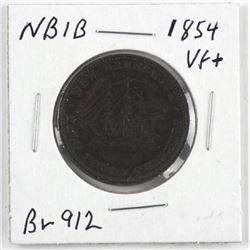 New Brunswick 1854 Br912 NBIB VF+