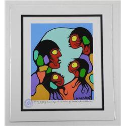 Norval Morrisseau (1931-2007) Studio Litho - LE 'A