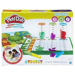Play-Doh Make and Measure Craft
