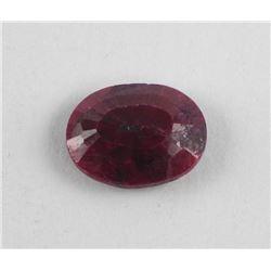 Loose Gemstone, Oval Cut Ruby (16.75ct) TRRV: $590