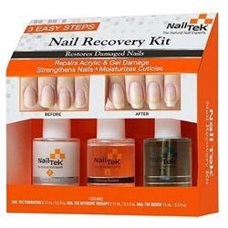 NAIL TEK New Restore Damaged Nails Kit- Intensive