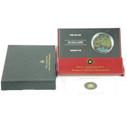 2006 .9999 Fine Silver $20.00 'CN TOWER' (CR)