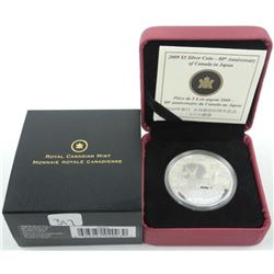 2009 - $5.00 Silver Coin 'Canada in Japan'